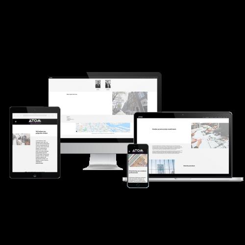 Atom-design-professionals-mock-up-website-lancering-MADE-Marketing