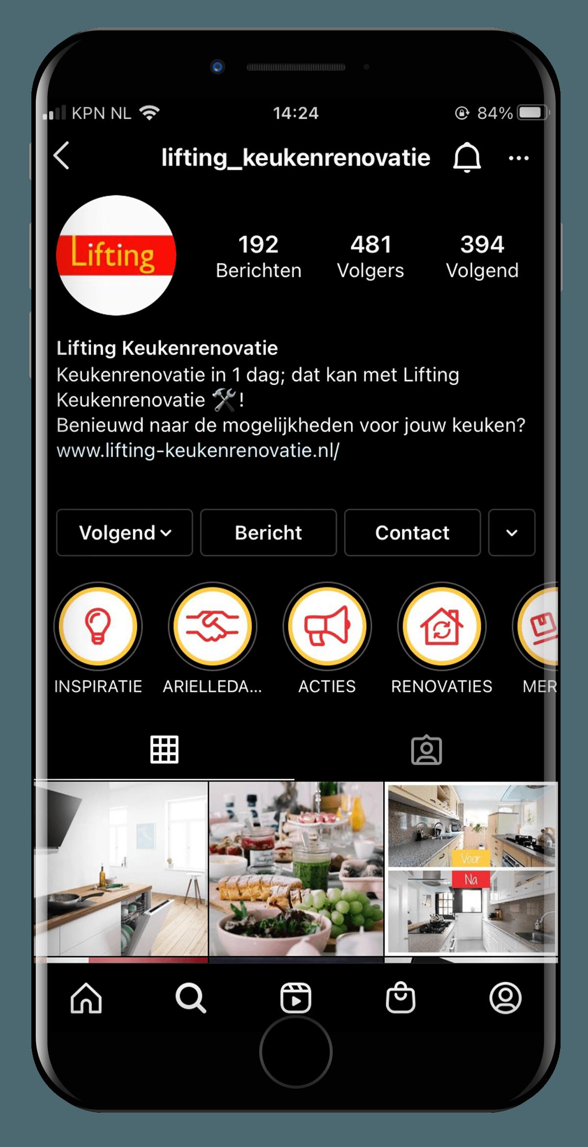 SociaLLien-made-marketing-liftingkeukens-instagram