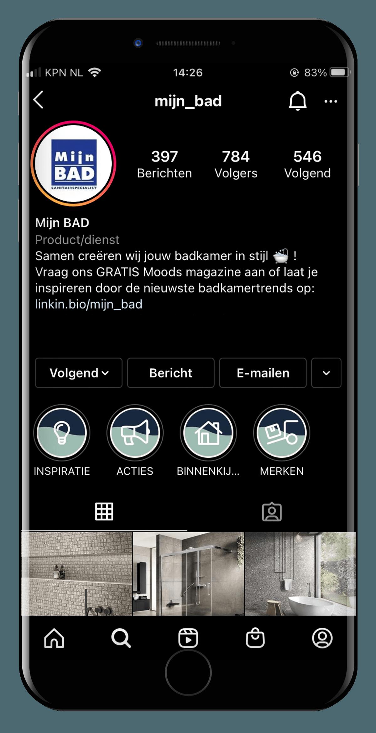 SociaLLien-made-marketing-mijnbad-instagram