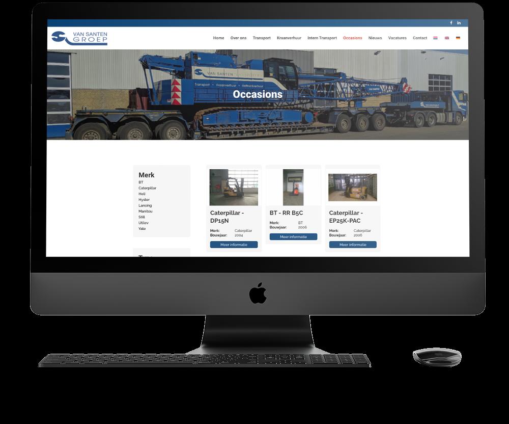Made-marketing-bureau-haarlem-online-marketing-maarwerk-api-koppelingen-mockup-van-santen-transport