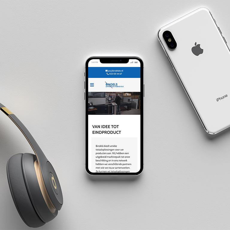 bindels-portfolio-made-marketing-online-marketing-website-bouwen-telefoon-mockup