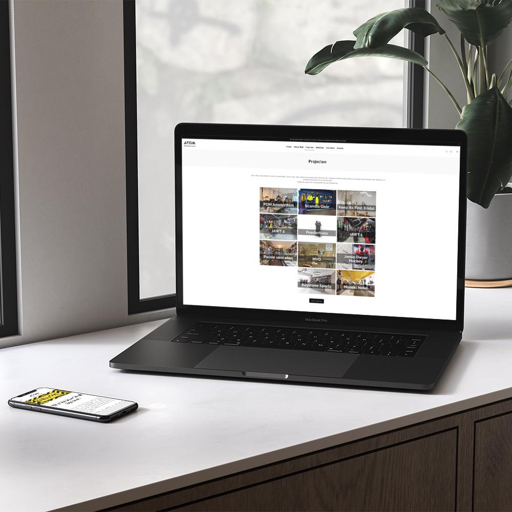Atom-retail-portfolio-website-development-haarlem